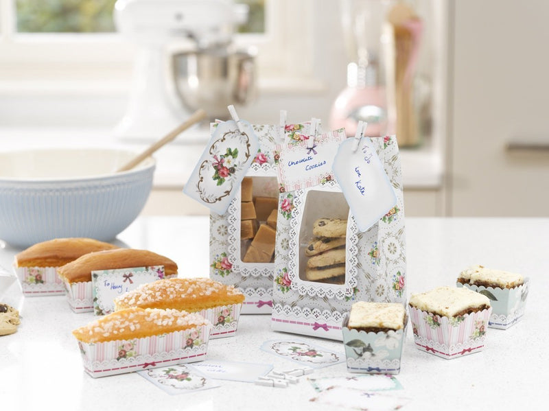 Talking Tables Frills and Frosting Cookie Bags With Pegs and Tags