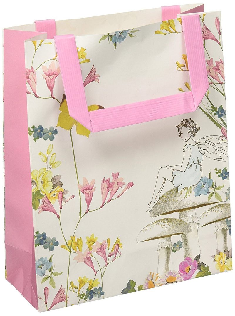 Talking Tables Truly Fairy Paper Treat Bags With Handles, Multicolor