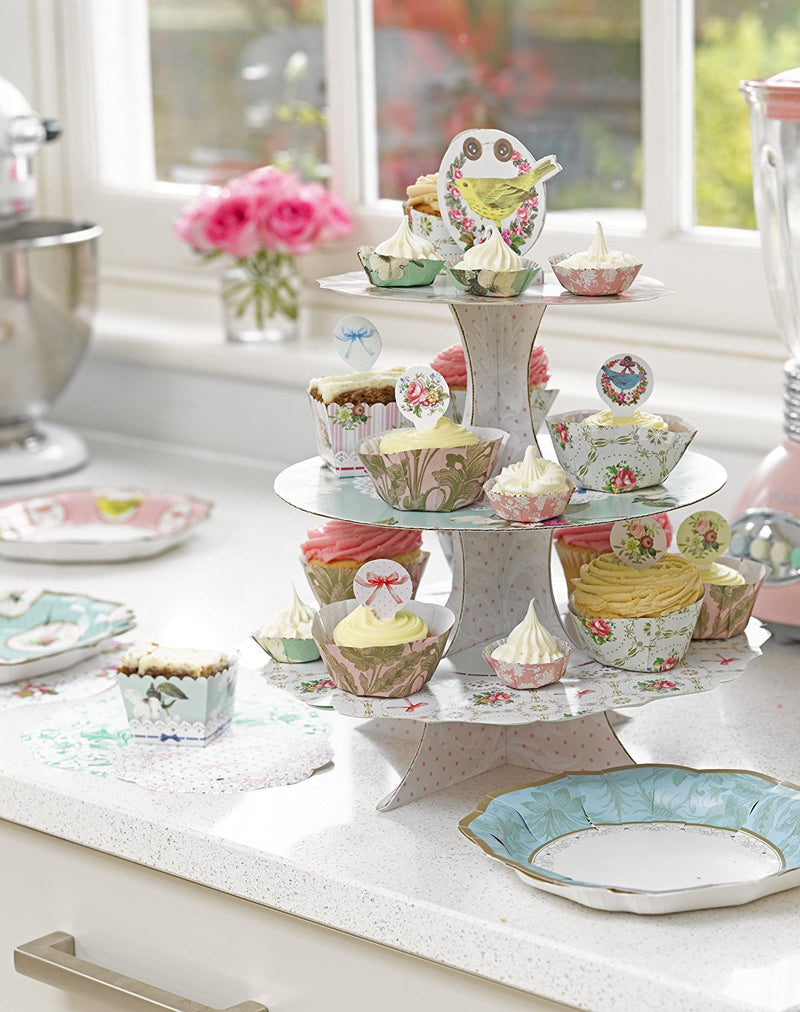 Talking Tables Frills & Frosting Frills & Frosting for a Tea Party, Mixed