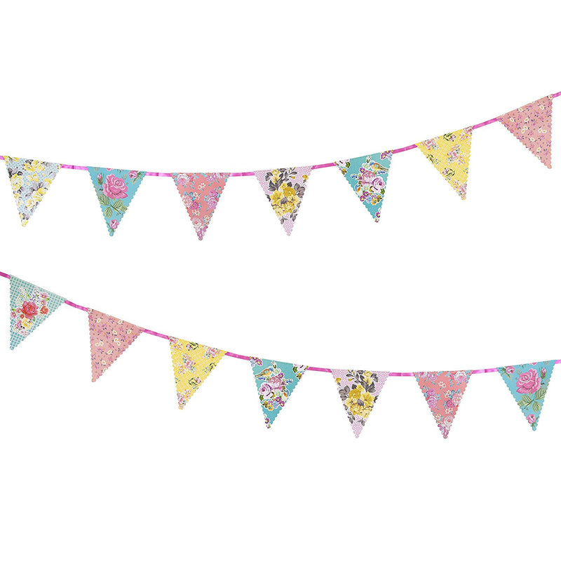 Talking Tables Truly Scrumptious Celebration Bunting, Multicolored