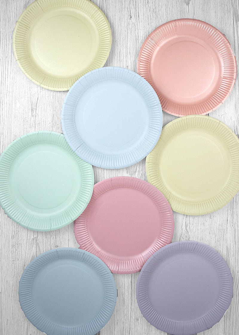 Talking Tables We Heart Pastel Party Bundle for Birthday Parties, Baby Showers, Picnics, Summer, Garden Tea Parties & More | Paper Plates, Napkins & Cups
