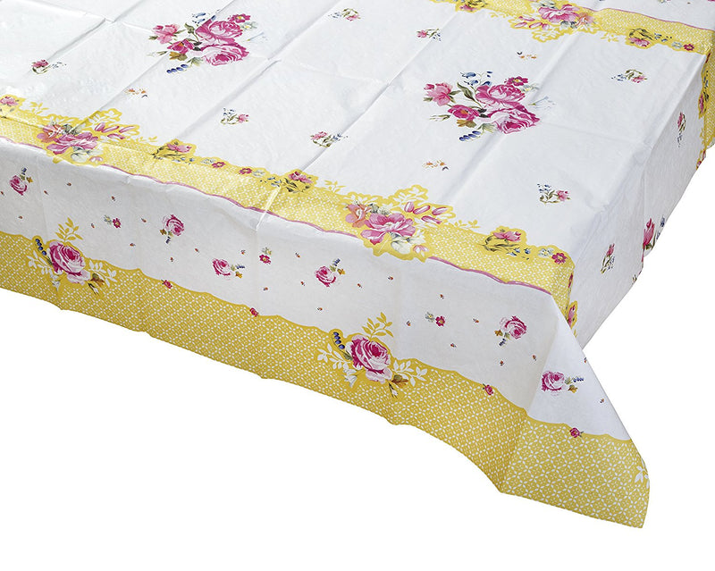 Talking Tables Truly Scrumptious Tea Party Table Cover, Multicolor