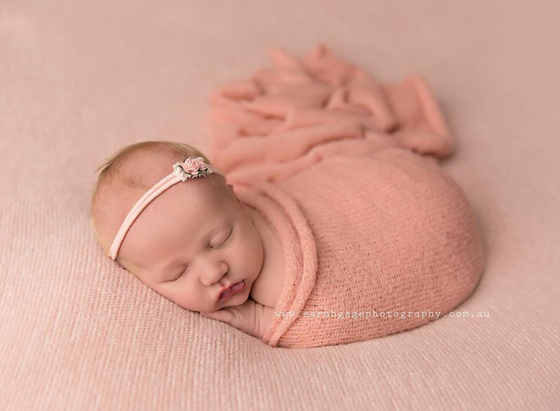 ~ Carli ~ rib knit fabric in baby pink