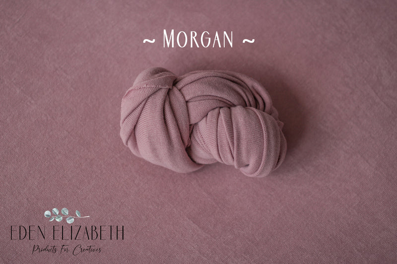 ~ Morgan ~ seamless stretch block fabric drop in dusty pink