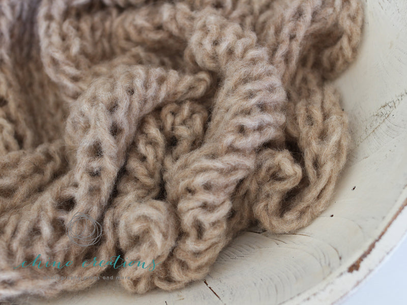 ~ Biography ~ Loren ~ Bulky Alpaca Blend Yarn ~ Textured Mini Layers