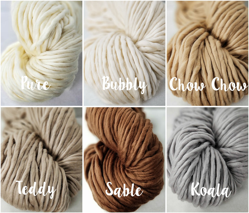 ~ Galler Yarns ~ Super B ~ Super Bulky 100% Superfine Merino Yarn