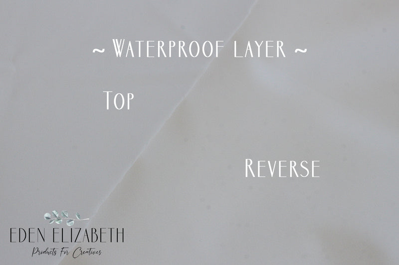 ~ Waterproof layer ~ in white