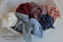 Stretch Ruffled Cheesecloth Wraps