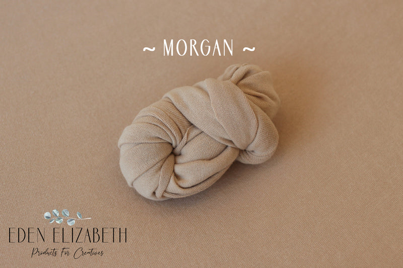 ~ Morgan ~ seamless stretch block fabric drop in latte