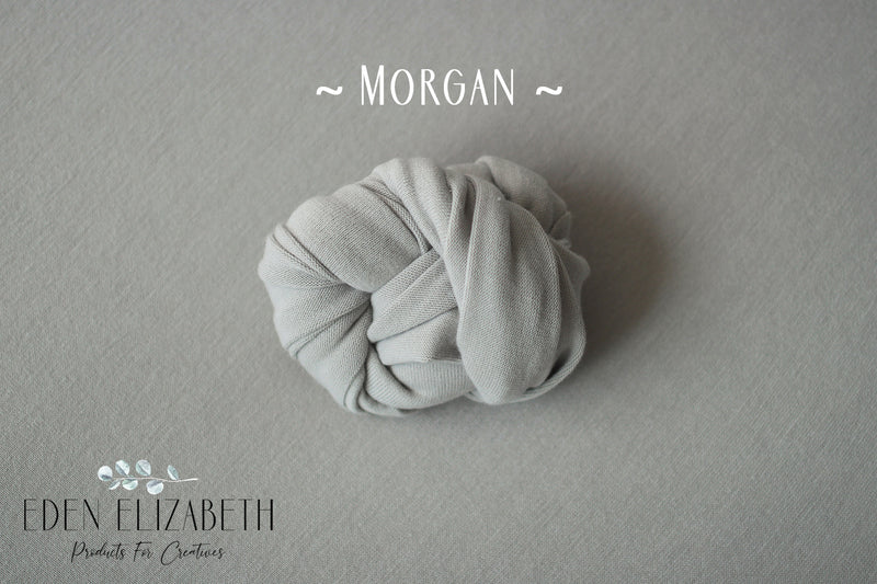 ~ Morgan ~ seamless stretch block fabric drop in seal grey