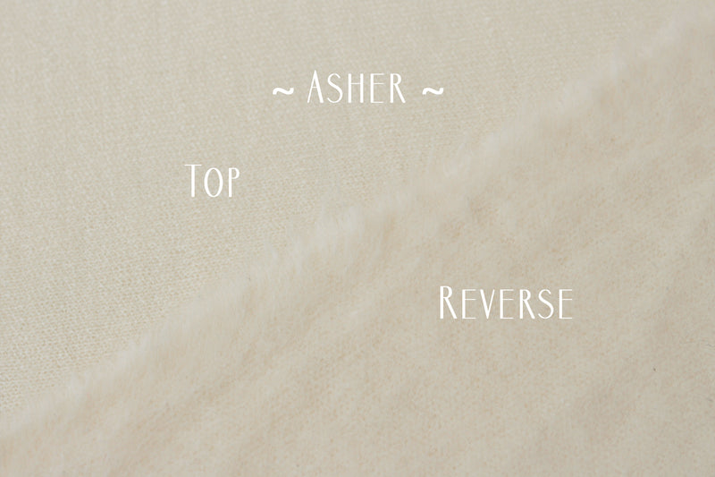 ~ Asher ~ in off white
