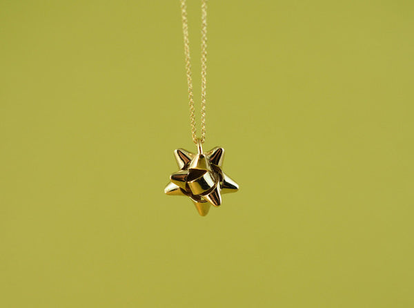 Gift Bow Pendant