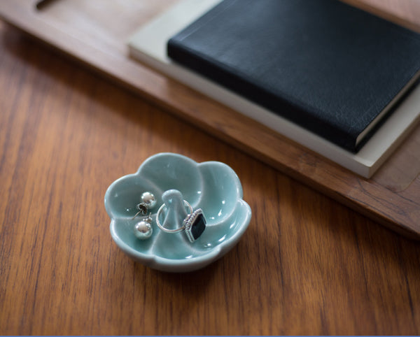 Meringue Porcelain Jewelry Dish