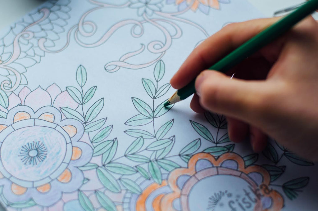 Health Benefits of Coloring: Why You Should Join the Adult Coloring Craze