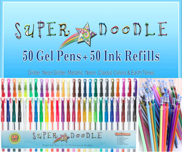 Gel Pen Trio Bundle