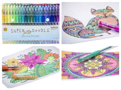 Coloring Cards/80 Glitter Bundle
