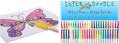 Animal Cards/100 Coloring Set Bundle