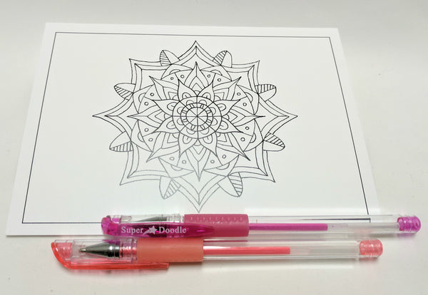 Mandala Cards/80 Glitter Bundle