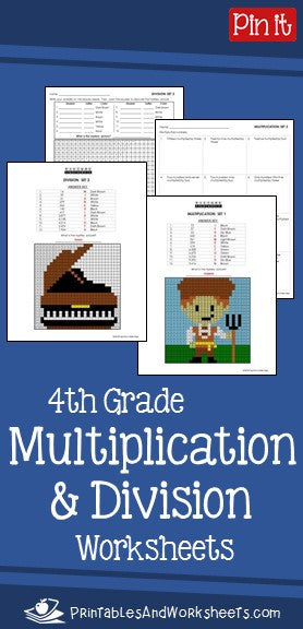 4th Grade Multiplication and Division