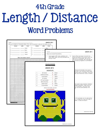 4th Grade Math Word Problems - Printables & Worksheets