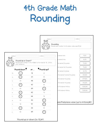 4th grade place value worksheets printables worksheets. Black Bedroom Furniture Sets. Home Design Ideas