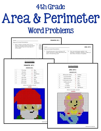 photo regarding Area and Perimeter Word Problems 4th Grade Printable known as 4th Quality Math Phrase Issues - Printables Worksheets
