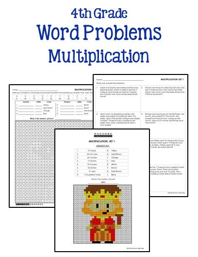 4th Grade Multiplication and Division Worksheets ...