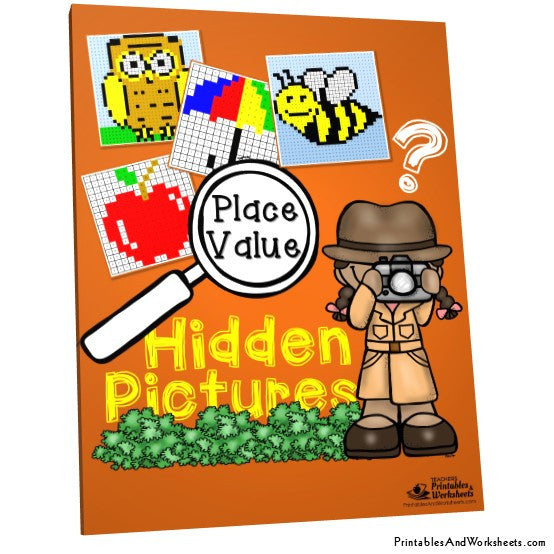 Place Value Activities Worksheets Mystery Pictures Cover