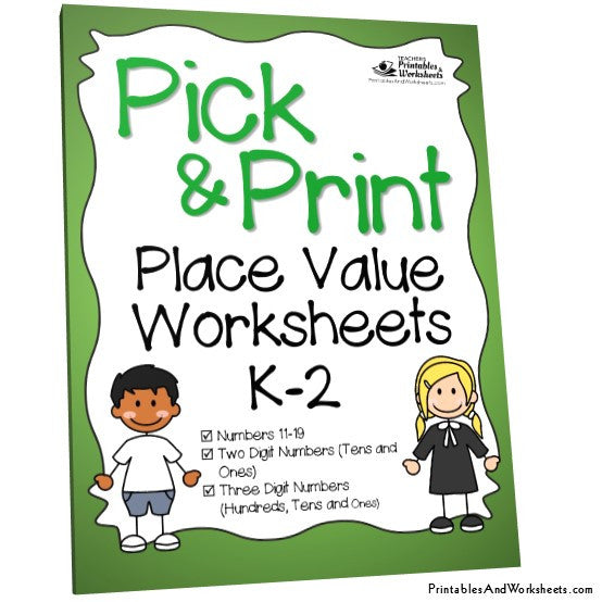 Place Value Worksheets : free place value worksheets pdf Free ...