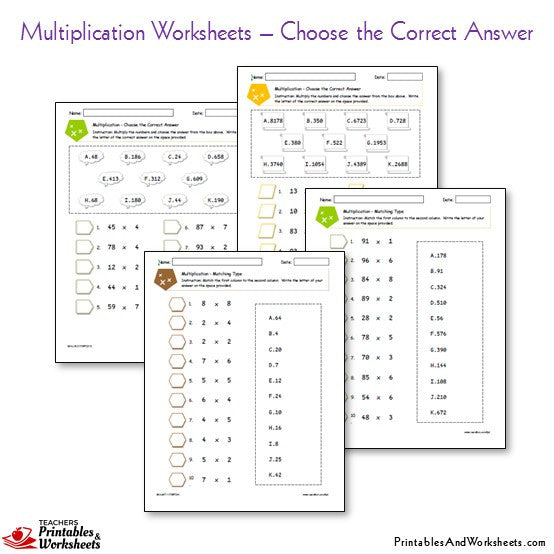 Worksheet #8181041: Partial Product Multiplication Worksheet ...