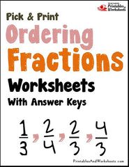 math worksheet : ordering fractions worksheets  printables  worksheets : Ordering Fractions From Least To Greatest Worksheet