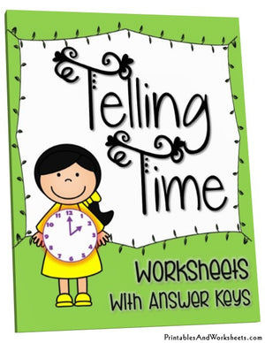 Telling Time Worksheets Cover