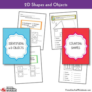 Identifying 2d Shapes, Grouping 2d Shapes