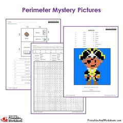 Find the Perimeter | Worksheets, Math and School