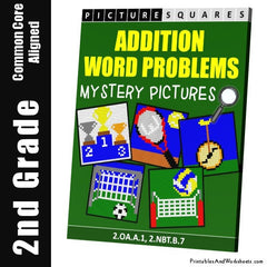 2nd Grade Addition Word Problems Cover