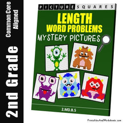 2nd Grade Length Word Problems Cover