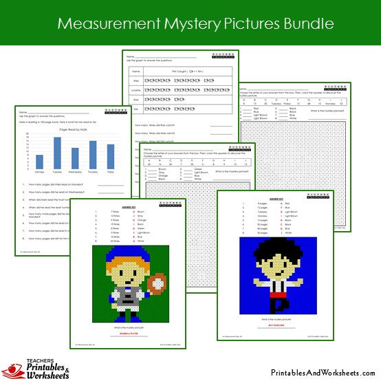 Grade 2 Measurement Coloring Worksheets Sample 3