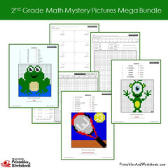 2nd Grade Math Coloring Worksheets Coloring Worksheets