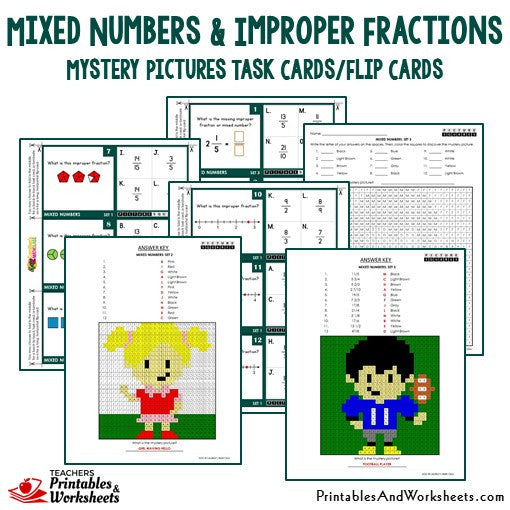 math worksheet : fractions and mixed numbers on a number line worksheets  : Fractions And Mixed Numbers On A Number Line Worksheets