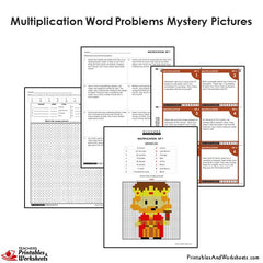 4th grade multiplication word problems coloring worksheets