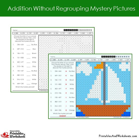 Number Names Worksheets what is regrouping in math : 2 Digit Addition No Regrouping Activities - spin and solve 2 digit ...