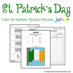 St. Patrick's Day Place Value Color-By-Number