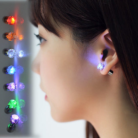 iGlo Light Up Earrings. 9 Colors - RSS Distributing