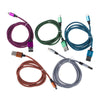 iPhone 5/5s/5c/6/6+/6s/6s+ Braided Charger Cables - RSS Distributing - 2