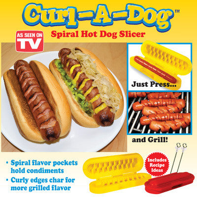 As Seen on TV Curl-A-Dog