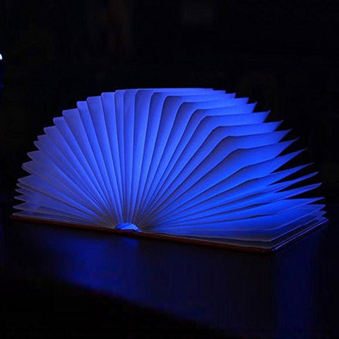 Lumio-Style Luxury LED Folding Book Lamp