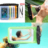 Waterproof Diving Pouch For Mobile Devices With Lanyard/Arm Band - RSS Distributing - 1
