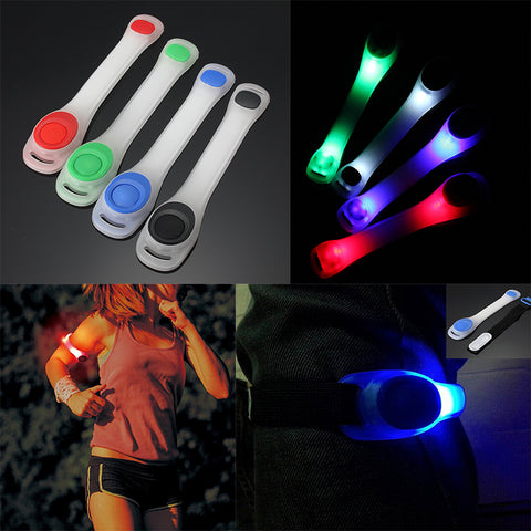 Light-Up LED Safety Armbands For Running/Cycling