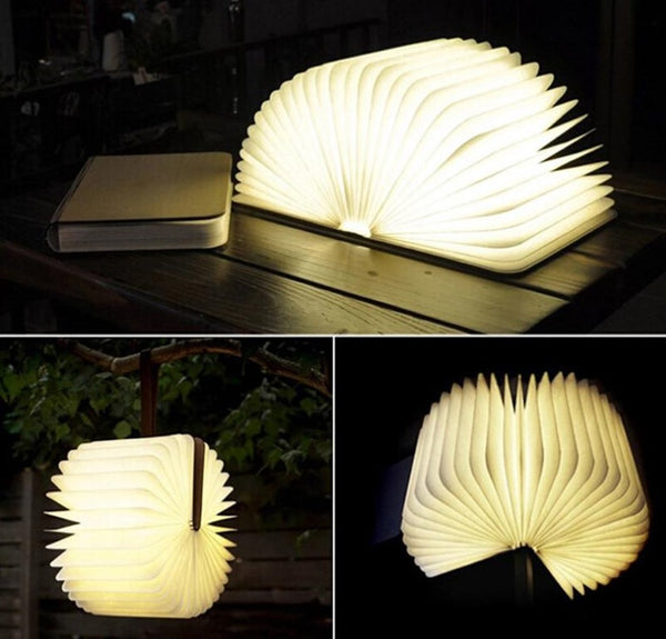 iGlo Lumio-Style Luxury LED FOLDING BOOK LAMP 4 Colors Book Light - RSS Distributing