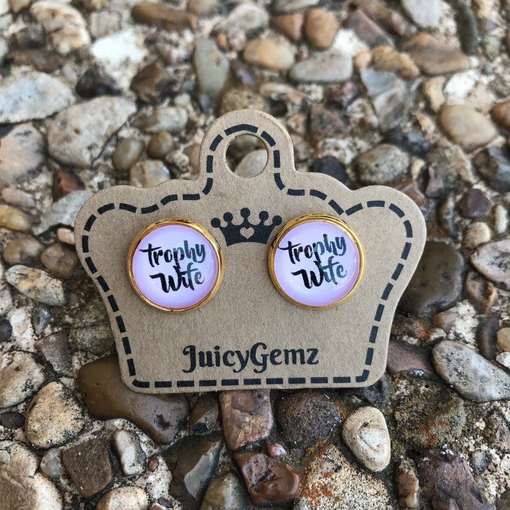 Trophy Wife Studs - Juicy Gemz